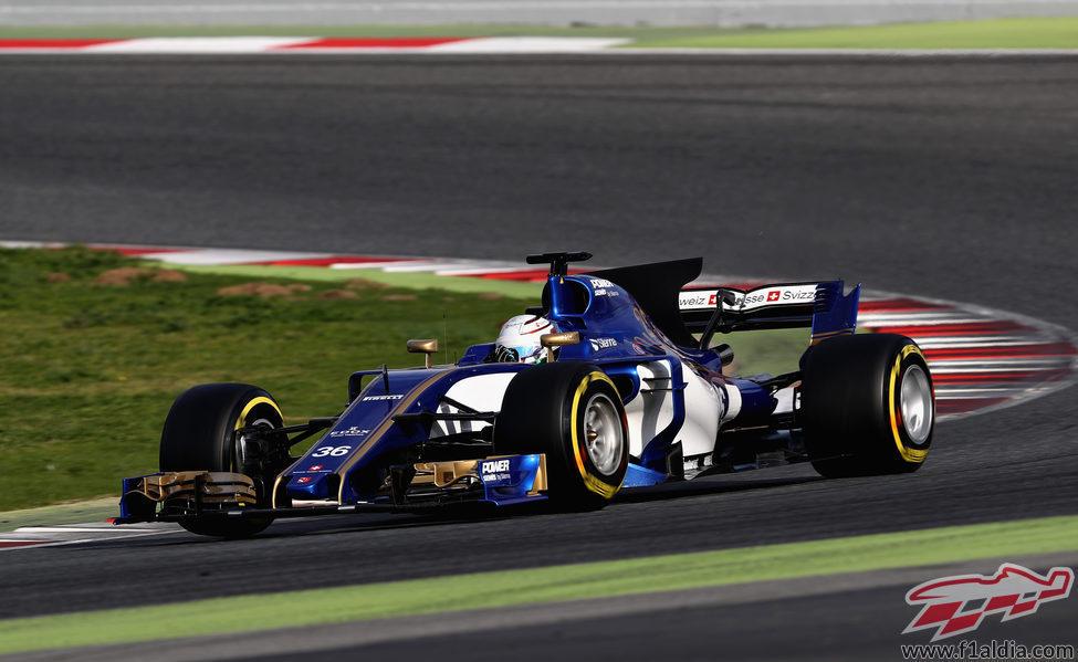 Antonio Giovinazzi a los mandos del Sauber
