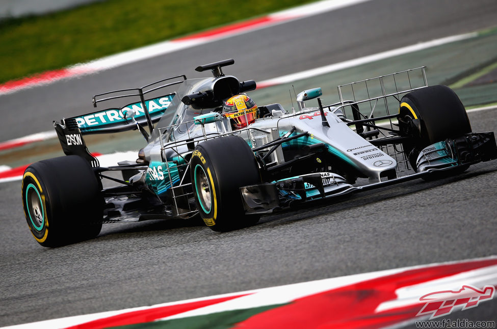 T-Wing doble en el W08