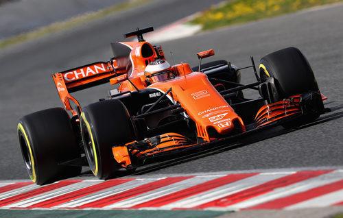 El McLaren pilotado por Stoffel Vandoorne