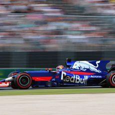 El Toro Rosso de Carlos Sainz completa el programa del viernes