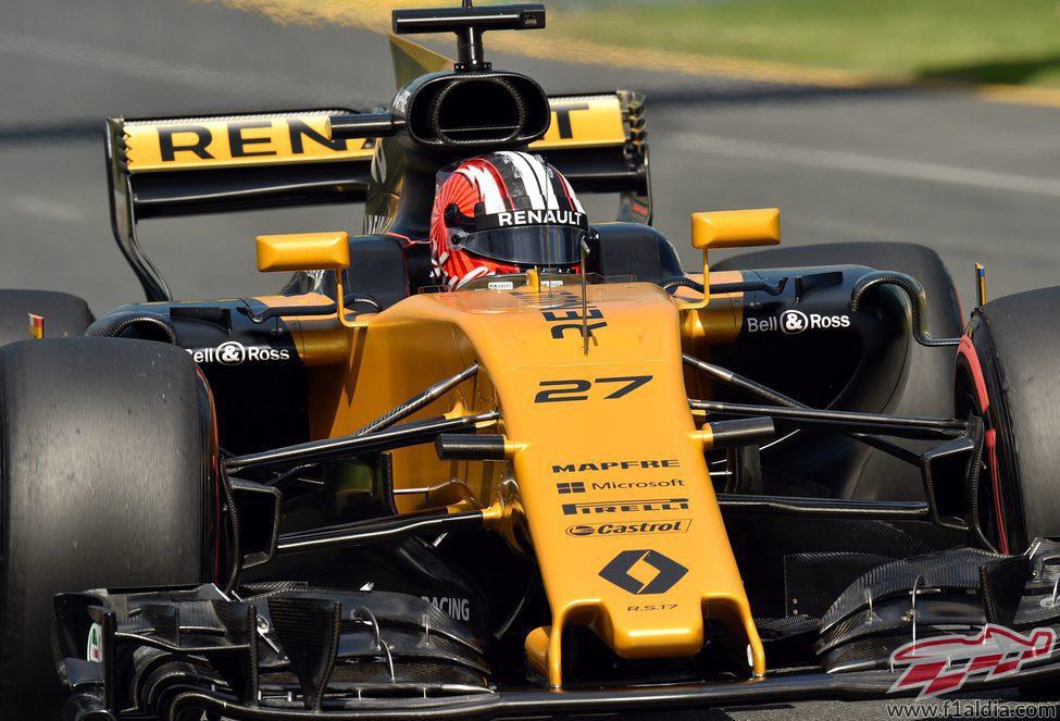 Nico Hülkenberg se estrena en Australia con Renault