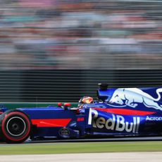 Daniil Kvyat pilota el Toro Rosso