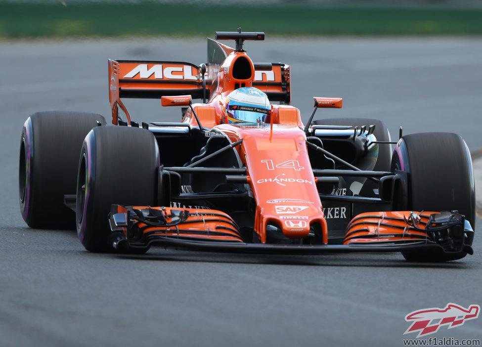 Fernando Alonso, 12º en el GP de Australia