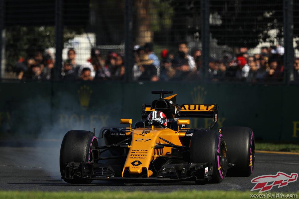 Nico Hülkenberg, el único Renault superviviente