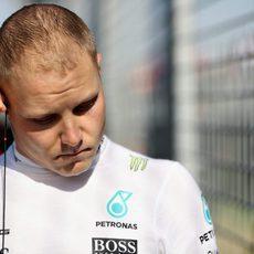 Valtteri Bottas se estrenó en carrera con Mercedes