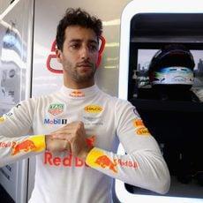 Ricciardo amenaza con dar guerra minutos antes de competir
