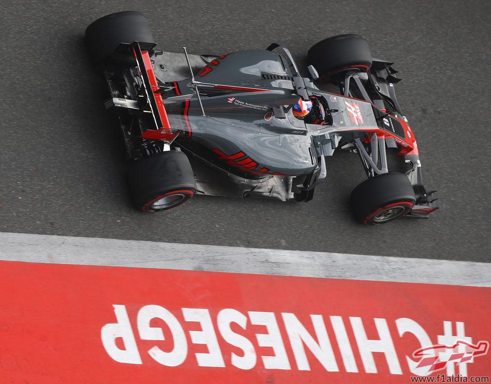 Romain Grosjean empeoró de los Libres 3 a la clasificación
