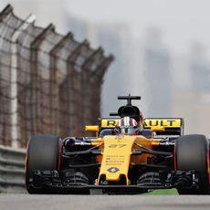 Nico mostró el verdadero potencial del Renault