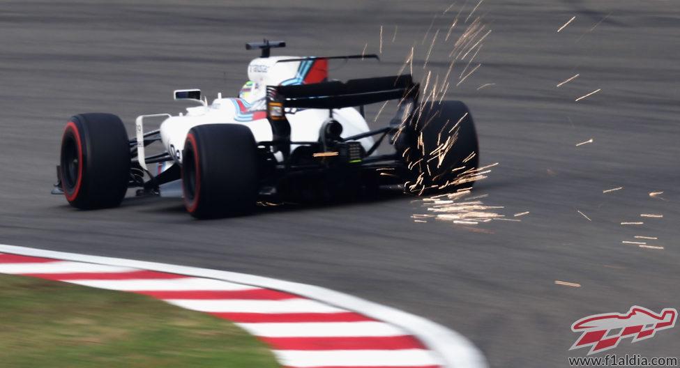 Massa sorprendió con el Williams