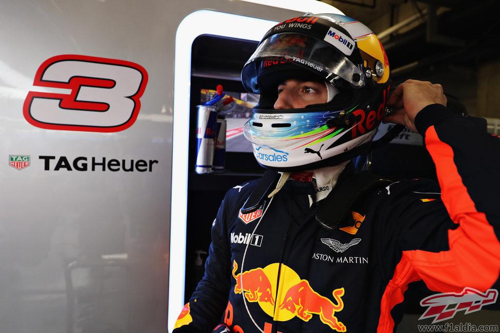 Ricciardo, la única bala de Red Bull en clasificación