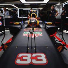 Verstappen sufrió problemas mecánicos