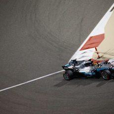 Lewis Hamilton se reservó el viernes