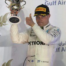 Valtteri Bottas acaba tercero en Sakhir