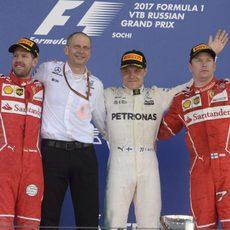 Ferrari mantuvo el podio, pero perdió la victoria