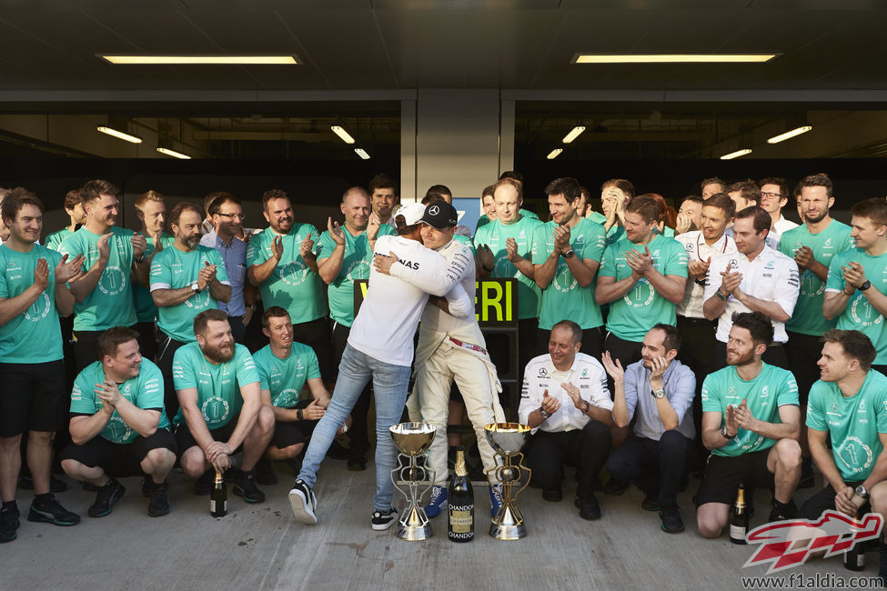 Un Lewis Hamilton desaparecido