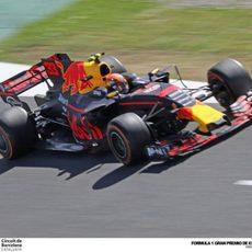 Max Verstappen confía en el ritmo de su Red Bull