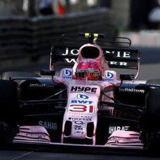 Esteban Ocon debuta en el circuito de Mónaco