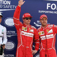 Kimi Räikkönen, poleman del GP de Mónaco 2017