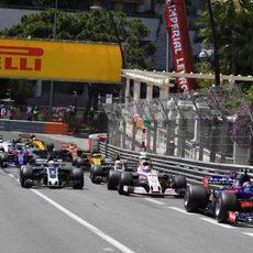 Carlos Sainz, sexto en Mónaco