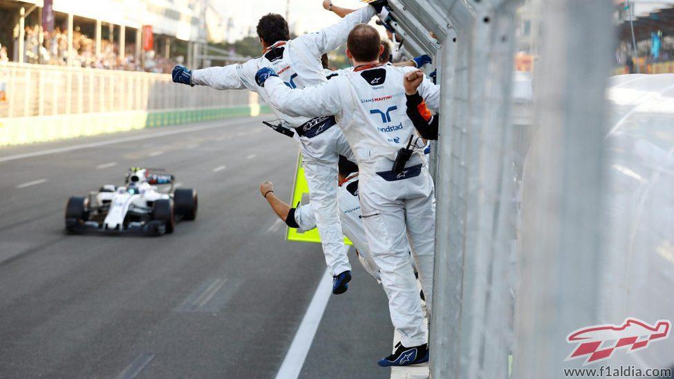 Lance Stroll, 2º en su octava carrera en Fórmula 1