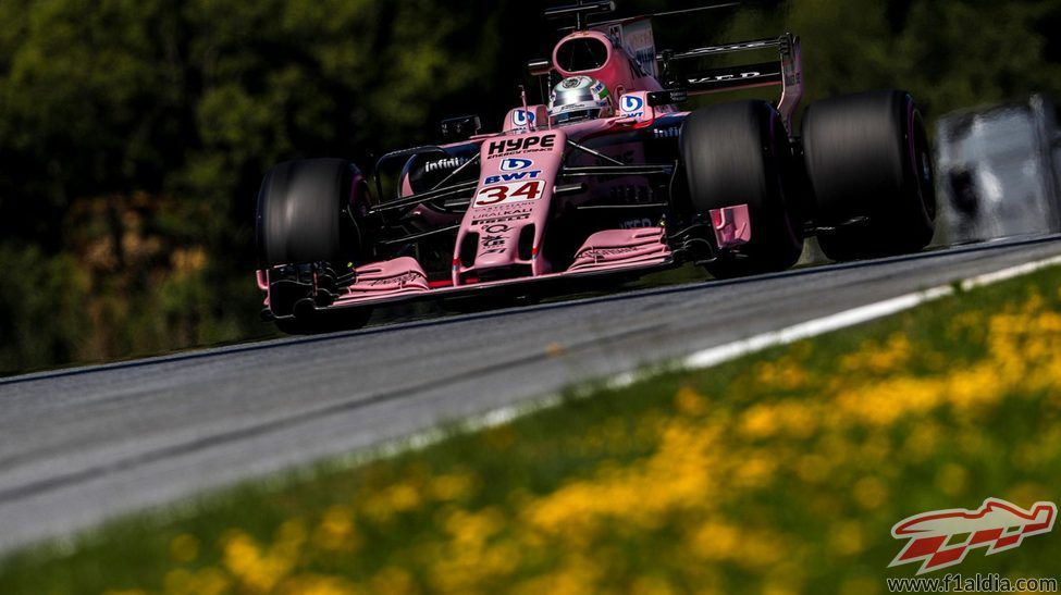 Alfonso de Celis vuelve a pilotar para Force India