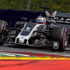 Objetivo cumplido para Romain Grosjean