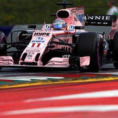 Force India, fuerte en la clasificación