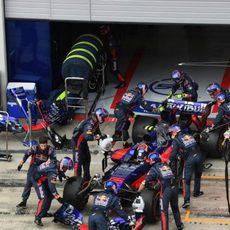 Carlos Sainz no termina la carrera