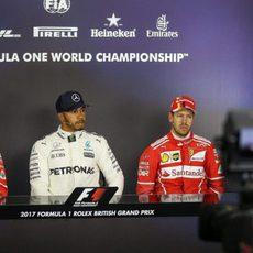 Hamilton, Vettel y Räikkönen, los más rápidos del día