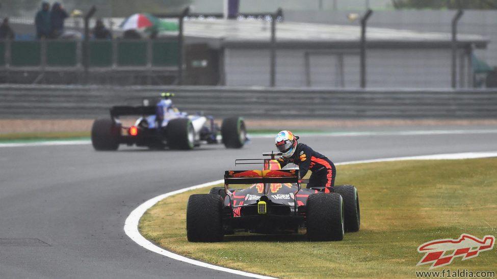 Daniel Ricciardo, 20º en la clasificación