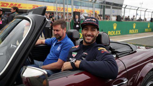 Gran remontada de Daniel Ricciardo