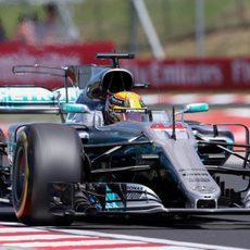 Lewis Hamilton, 4º en el Hungaroring