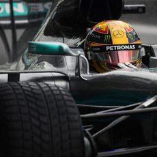 Lewis Hamilton, poleman en Monza