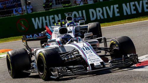 Massa y Stroll en Monza