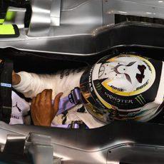 Lewis Hamilton al detalle