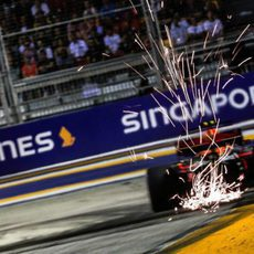 Chispas del Red Bull RB-13