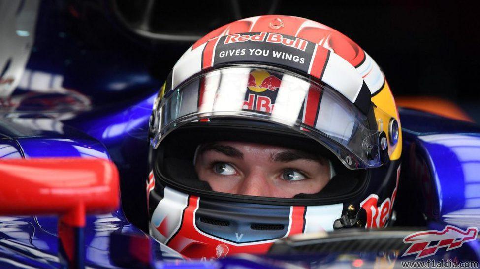 Pierre Gasly debuta en Fórmula 1