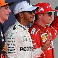 Hamilton, Räikkönen y Verstappen los más rápidos del sábado