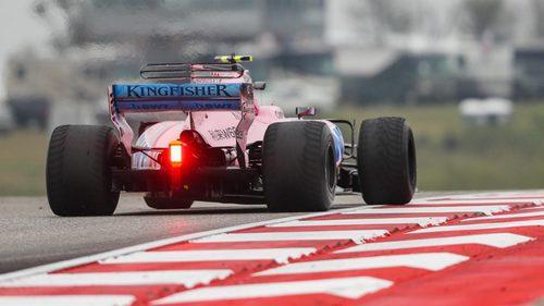 Parafina en el Force India