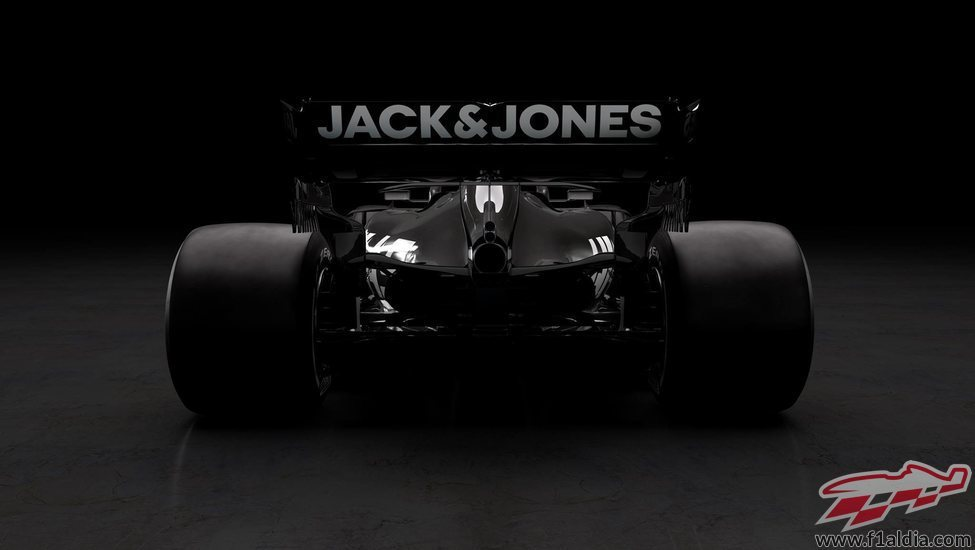 Alerón trasero del monoplaza de Haas: VF19