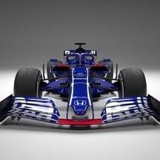 Presentaciones 2019: Toro Rosso-Honda STR14