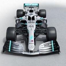 Vista frontal del nuevo W10