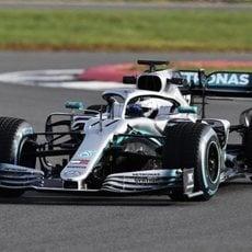 Valtteri Bottas pilotando su W10