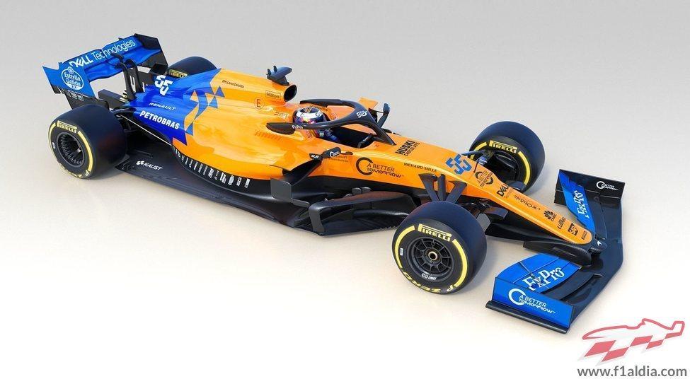 McLaren destapa su nuevo MCL34