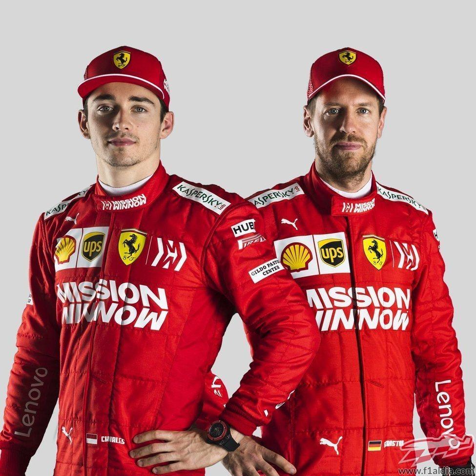 Los pilotos de la Scuderia Ferrari para 2019