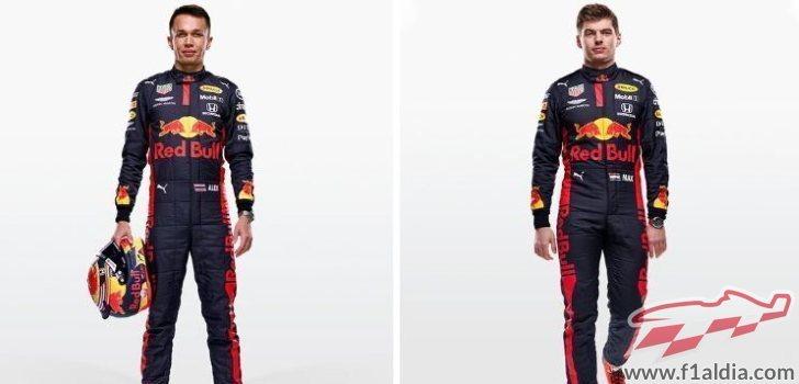 Los pilotos de Red Bull preparados para 2020