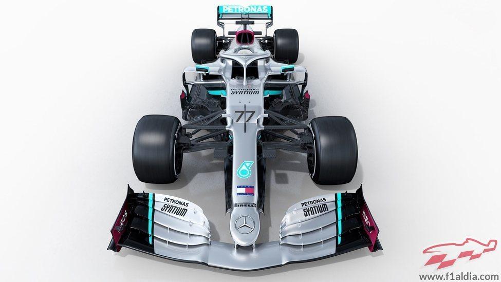 Vista frontal del W11