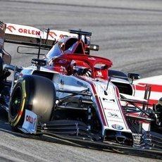 Robert Kubica en el Alfa Romeo