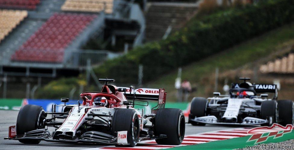 Räikkönen prepara su Alfa Romeo