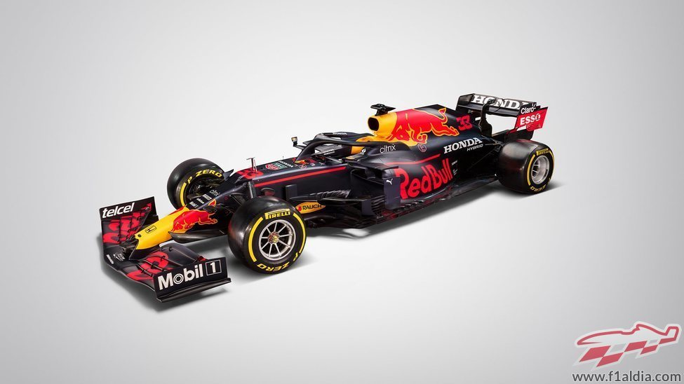 Sale a la luz el RB16B de Red Bull